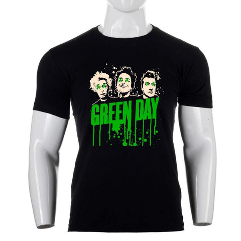 Shangrila Green Day Printed T-Shirt For Men