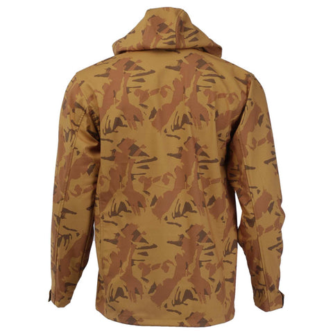 Camo Softshell Jacket For Men