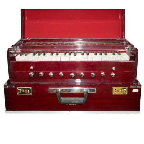 Folding Harmonium Bina 17 With Free Cover - Dark Brown price in Nepal