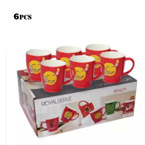 Royal Serve Royality Red 6 Pcs Ceramic Cup