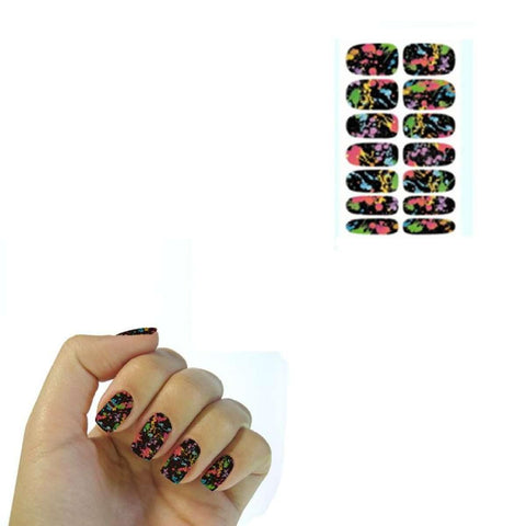 Multiple Colors Water Transfer Nail Art Design price in Nepal