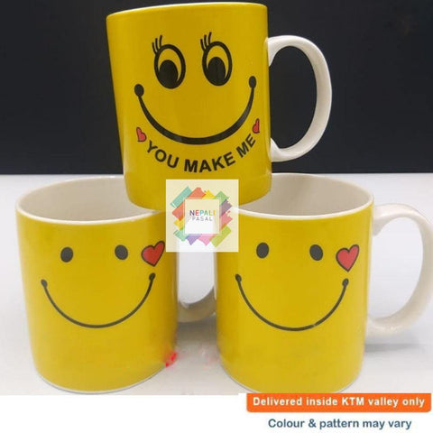 Cute Smiley Mug Keep Smiling Beautiful People price in nepal