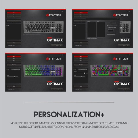 FANTECH OPTIMAX MK885 RGB GAMING KEYBOARD