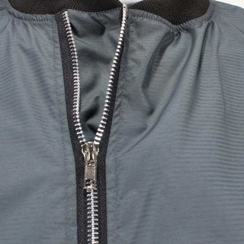 Grey Bomber Windcheater For Men