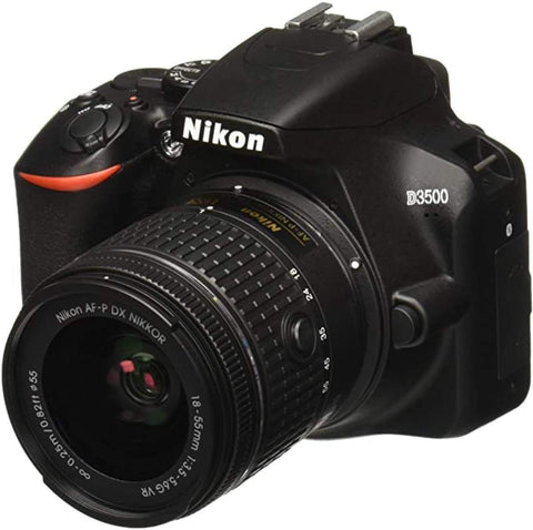Nikon D3500 W/ AF-P DX NIKKOR 18-55mm f/3.5-5.6G VR Black price in Nepal