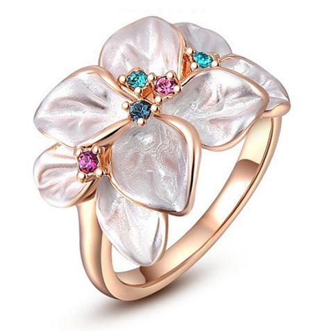 Elegant Petals Flower Fantasy Ring price in Nepal