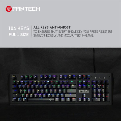 FANTECH OPTIMAX MK885 RGB GAMING KEYBOARD price in nepal