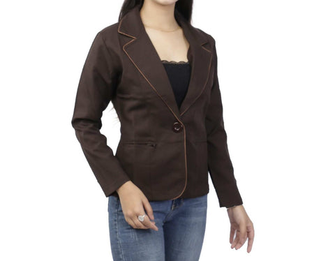 Single Breasted Single Button Full Sleeve Formal Coat price in Nepal
