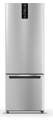 Whirlpool 355 L 3 Star Frost Free Double Door Refrigerator (IF PRO BM INV 370 ELT+, Omega Steel, Bottom Freezer) price in Nepal