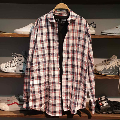 Checkered Lining Summer Shirt For Men