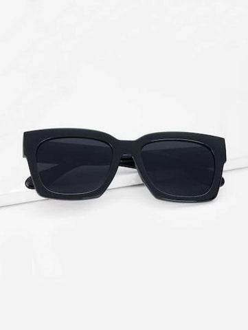 Lookscart Black Oversized Fashionable Unisex Sunglass
