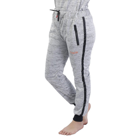 Knitted Cotton Sports Joggers For Women
