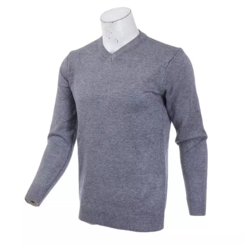V-Neck Sweater Men 2020 Autumn Winter Cashmere Cotton Blend Warm Jumper Clothes Men Hombres Sweater By Bajrang