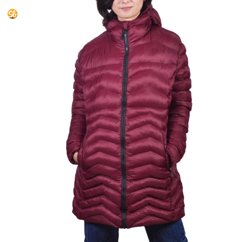 Light Silicon Long Winter Jacket For Ladies price in Nepal