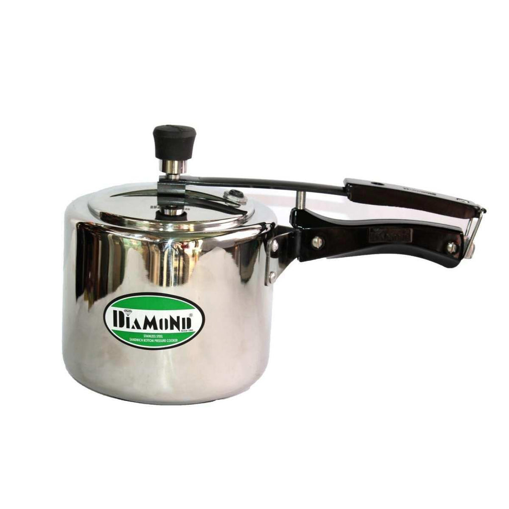 Diamond Steel Induction Base 3 Liter Pressure Cooker