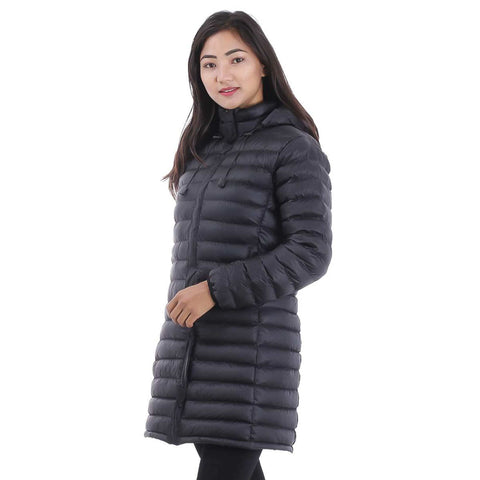Long Silicon Hooded Jacket For Women price in Nepal