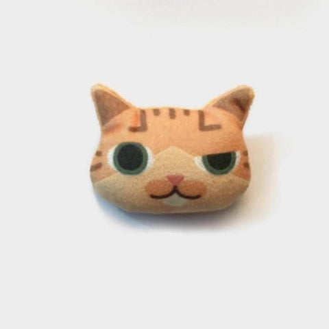 3D Lovely Handmade Smirking Cat Emoji Brooch price in Nepal