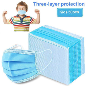 Kids 3 Ply / Layer Surgical Mask Chinese In A Box 50pcs