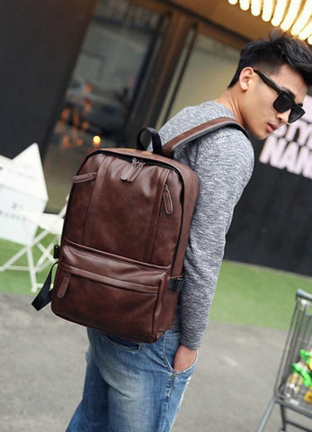 Brown Casual Tone Laptop Bag-unisex (41001711)