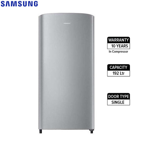 Samsung Rr19M2102Se 192Ltr Single Door Refrigerator - Silver