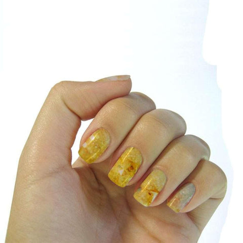 Multiple Colour Design Water Transfer Nail Art Decal