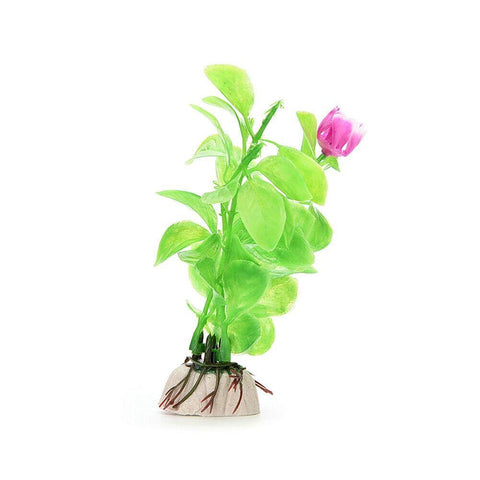 Random Design Artificial Pvc Plastic Water Grass Fish Tank Aquarium Landscaping Decor Plant
