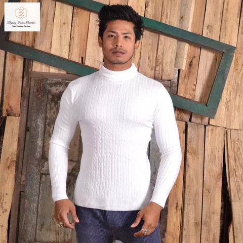 Turtleneck Sweater For Men By Bajrang price in nepal
