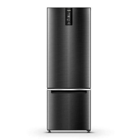 Whirlpool 355 L 3 Star Frost Free Double Door Refrigerator (IF PRO BM INV 370 ELT+, Steel Onyx, Bottom Freezer) price in Nepal