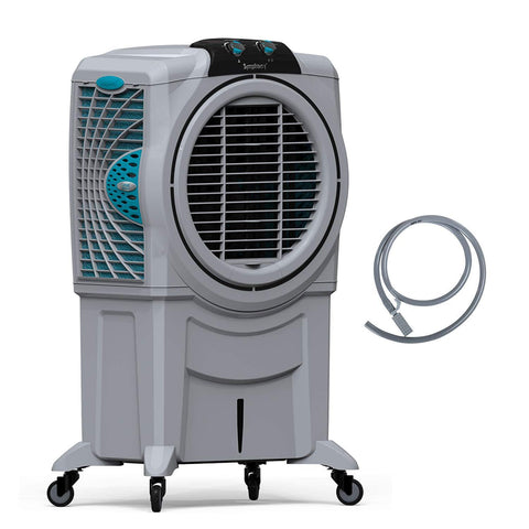 Symphony Sumo 115 XL Powerful Desert Air Cooler 115-litres, Air Fan, Easy-Fill, 3-Side Honeycomb Pads, i-Pure Console & Low Power Consumption (Grey) price in Nepal