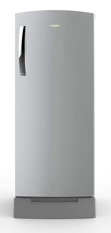 Whirlpool 200 L 3 Star Single Door Refrigerator (215 ICEMAGIC PRO ROY 3S, Cool Illusia Steel) price in Nepal