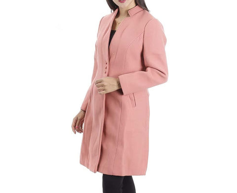 Attire Nepal Longline Wool Two Pocket Solid Trench Coat price in Nepal