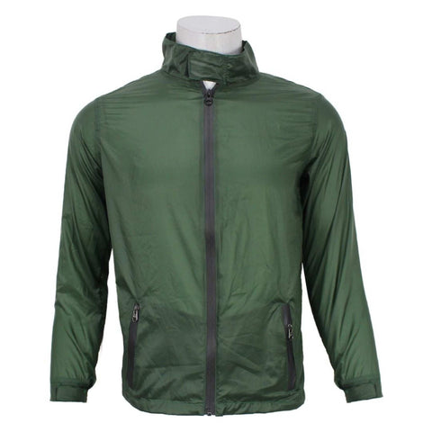 Green Taffeta Windcheater For Men price in nepal