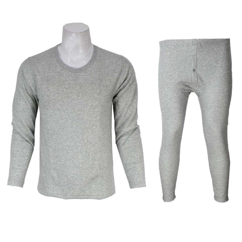 Grey Inner Fur Thermal Set