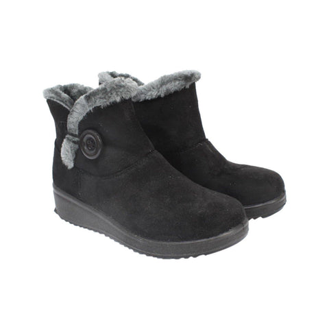 Fashion Women Winter Keep Warm Flat Plush Snow Boots Ankle Short Boots ( Nep-2)