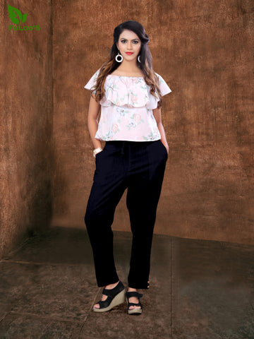 Women Pencil Pant in Cotton slub # 1005 price in nepal