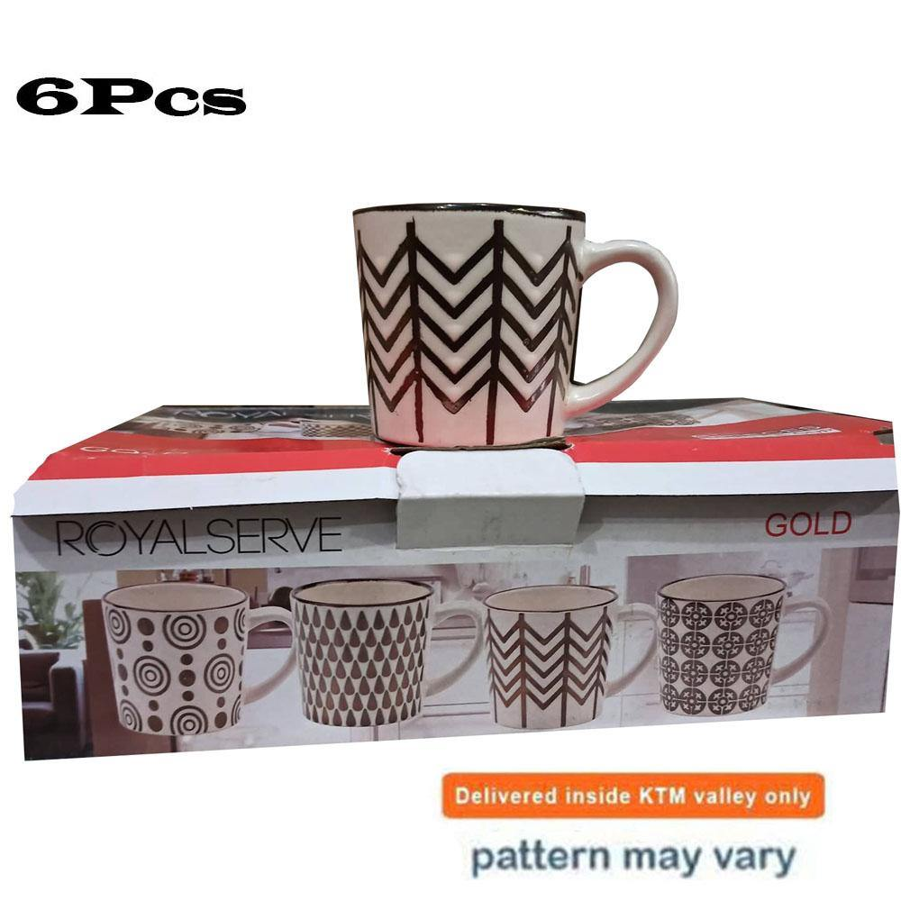Royale Serve Gold Coffee/ Tea Cup Set of 6 price in nepal
