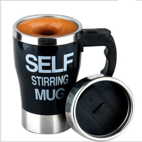 Coffee Maker Mug Self Stirring Self Mixing Cup, 400Ml, Battery Operated price in nepal