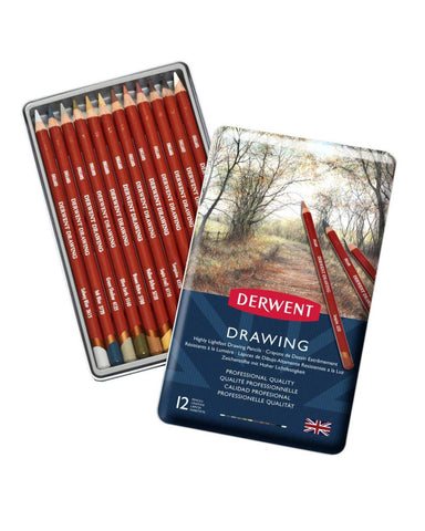 Derwent Drawing Colouring Pencils Tin (Set Of 12) price in Nepal