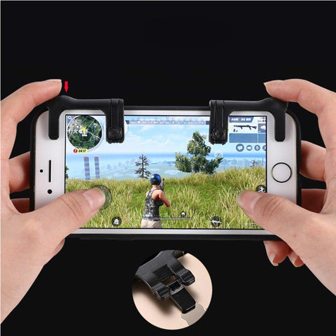 1 Pair Mobile Game Fire Buttons Aim Key Joystick Gaming Trigger L1R1 Shooter Controller For Pubg price in nepal