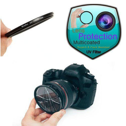 35001104 40.5mm/43mm/49mm/55mm/62mm/77mm/72mm/82mm Kenko Optical Clear UV Slim Filter For DSLR Camera