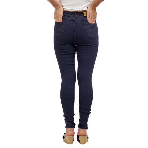 Women's High Waist Slim Fit Denim Pants by Attire Nepal