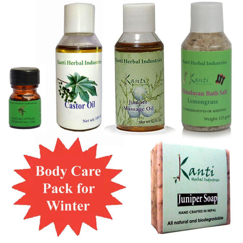 Kanti Herbal Winter Body Care Combo Pack