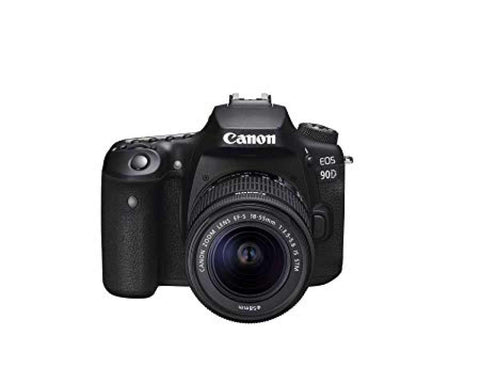 Canon Eos 90D Digital Slr Camera With Ef-S 18-55Mm F/3.5-5.6 Image Stabilisation Lens Kit (16 Gb Sd Card) - Black price in Nepal