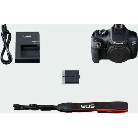 Canon EOS 4000D 18.0 MP DSLR Camera With EF-S 18-55mm IS (16 Gb Card )- Black