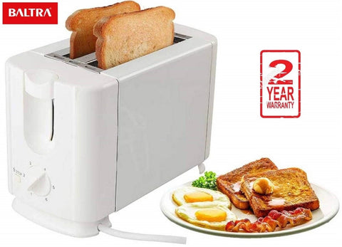 EP Baltra India BTT212 Crispy+ 2 Slice Toaster - White price in Nepal