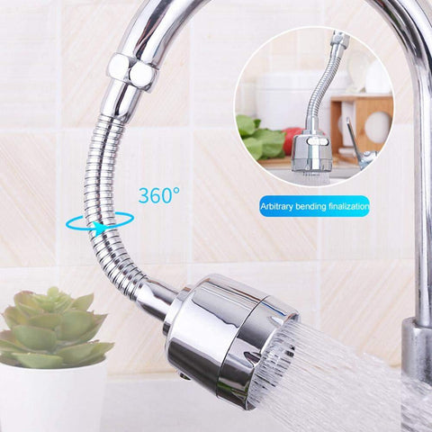 Kitchen Water Saver Tap 360 Degrees Rotate Faucet Nozzle with Adjustable Faucet Sprayer Sprinkler Tap Water Aerator Connector price in Nepal