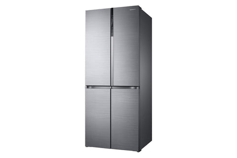 Samsung 594 L with Inverter Side-by-Side Refrigerator (RF50K5910SL/TL, Real Stainless)