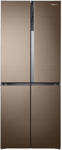 Samsung 594 L Frost Free Side-by-Side Refrigerator(RF50K5910DP/TL, Refined Bronze, Convertible, Inverter Compressor) price in Nepal
