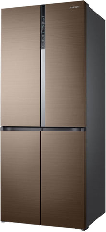 Samsung 594 L Frost Free Side-by-Side Refrigerator(RF50K5910DP/TL, Refined Bronze, Convertible, Inverter Compressor)
