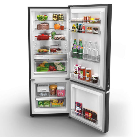 Whirlpool 355 L 3 Star Frost Free Double Door Refrigerator (IF PRO BM INV 370 ELT+, Steel Onyx, Bottom Freezer)